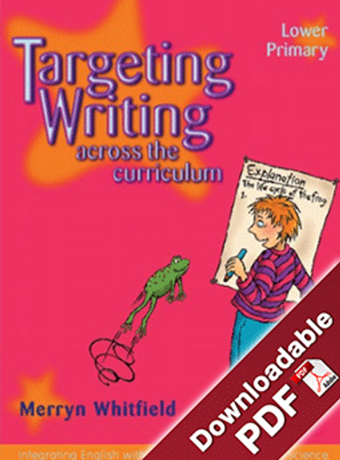 Targeting Writing Across the Curriculum Lower Primary