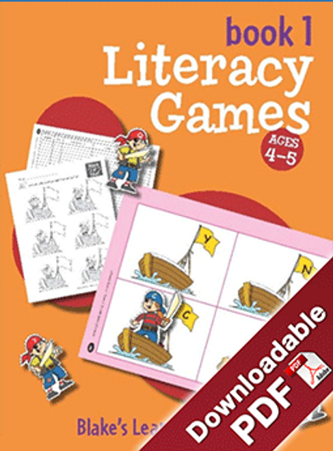 Blake's Learning Centres Literacy Games Book 1