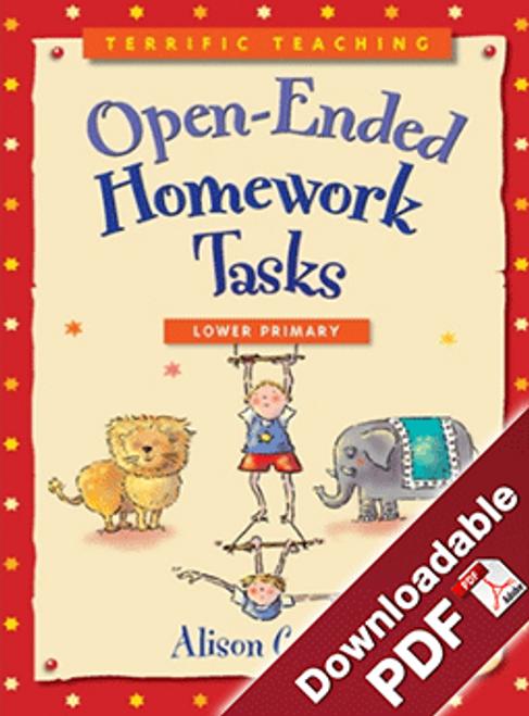 Terrific Teaching: Open - ended Homework Tasks Lower Primary
