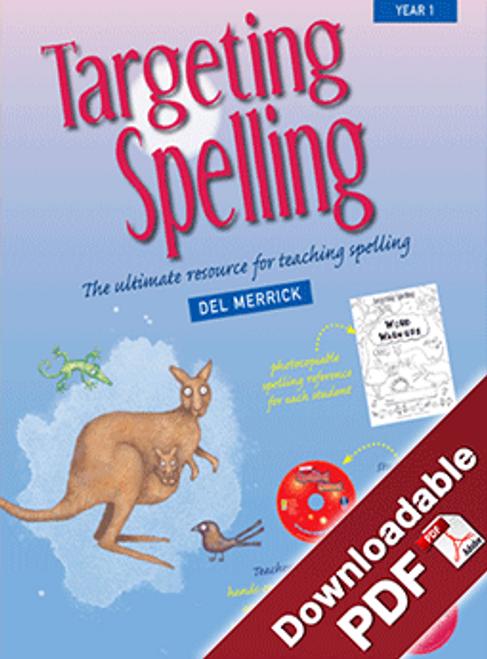 Targeting Spelling Teaching Guide - Book 1
