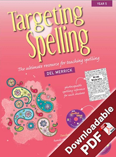 Targeting Spelling Teaching Guide - Book 5