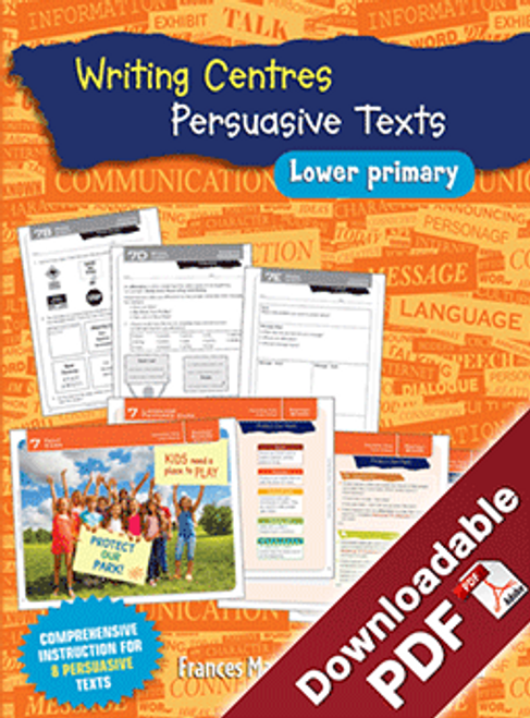 Blake's Learning Centres: Writing Persuasive Texts LP