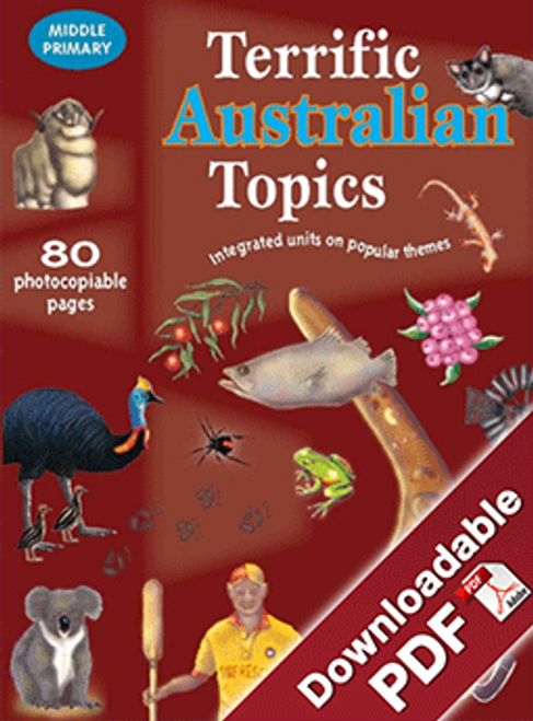 Terrific Australian Topics - MP