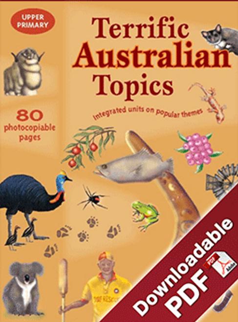 Terrific Australian Topics - UP