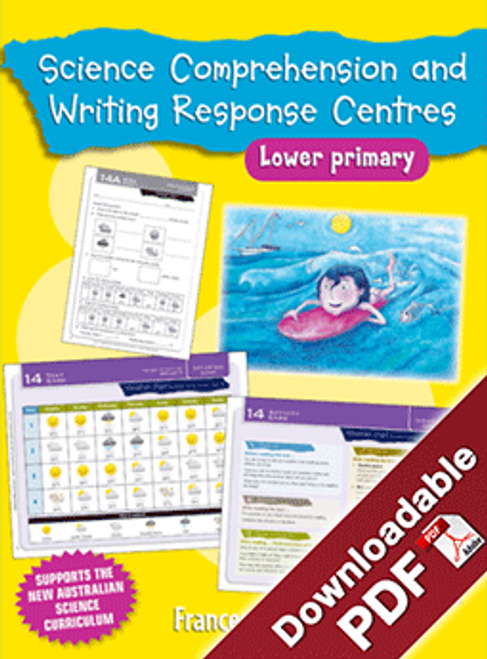 Blake's Learning Centres Science Comprehension & Writing LP