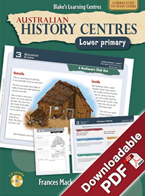 Blake's Learning Centres: Australian History Centres LP