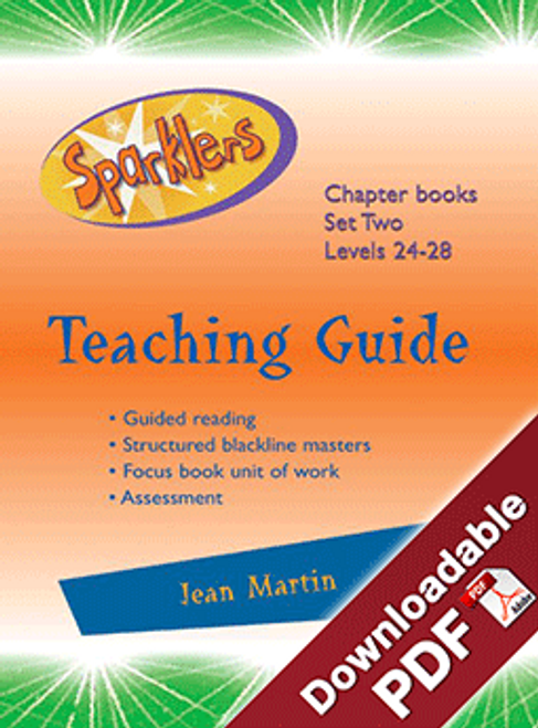Sparklers - Green 2 - Teaching Guide