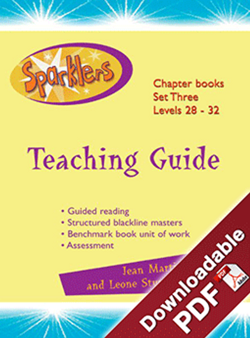 Sparklers - Aqua 3 - Teaching Guide