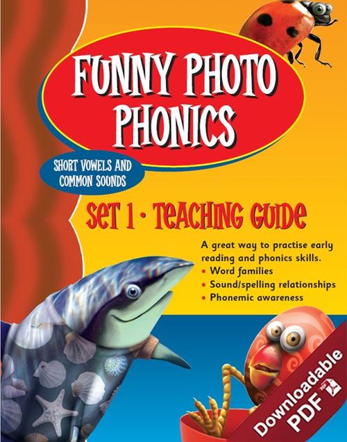 Funny Photo Phonics - Set 1 - Teaching Guide