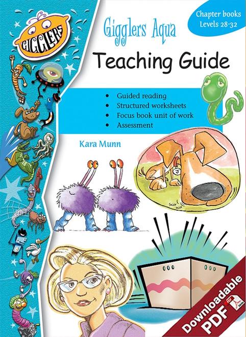 Gigglers - Aqua - Teaching Guide