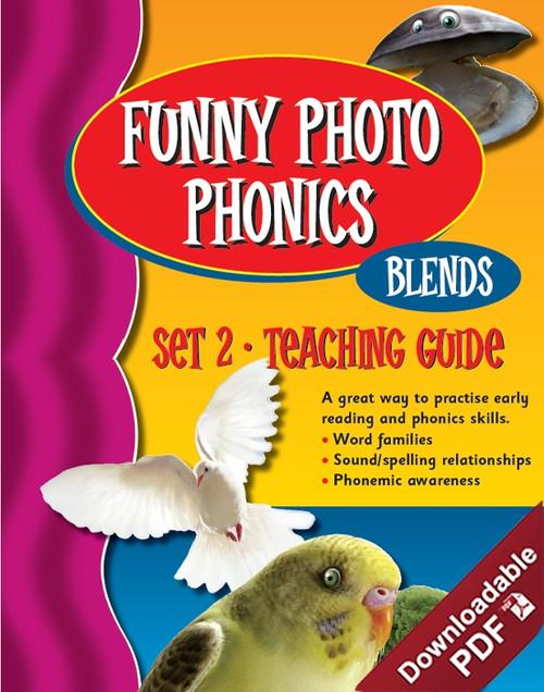 Funny Photo Phonics - Set 2 Blends - Teaching Guide