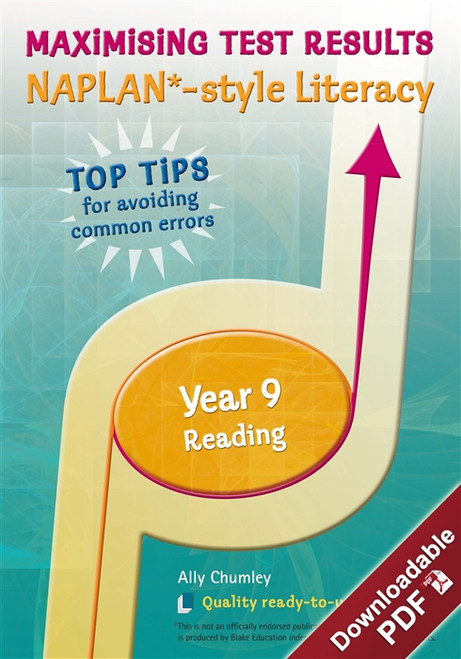 Maximising Test Results - NAPLAN*-style Year 9 Literacy: Reading