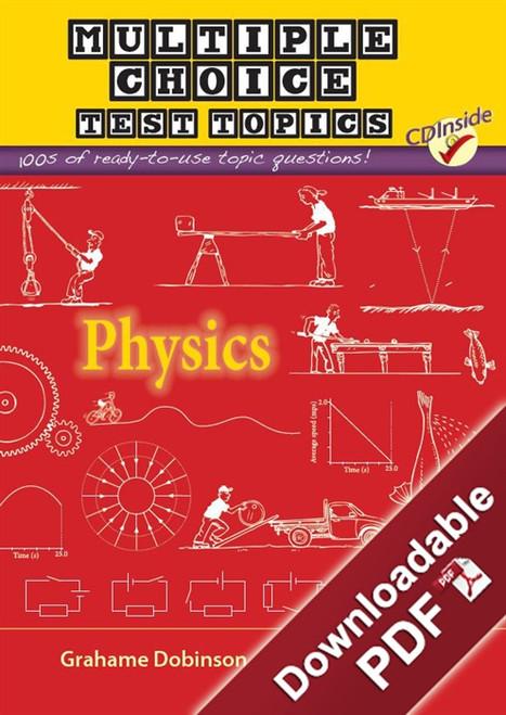 Multiple-Choice Test Topics - Physics