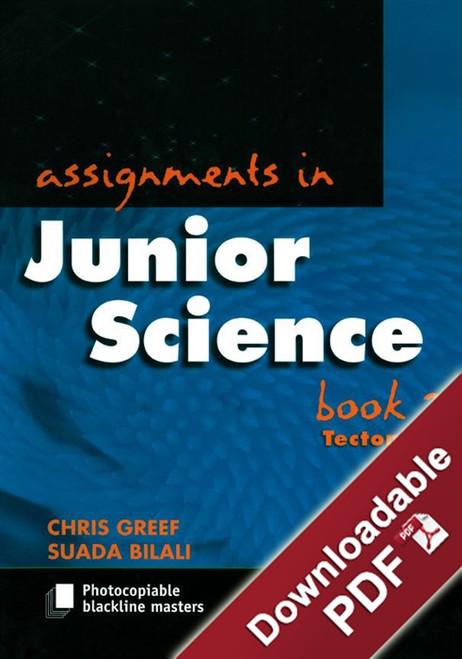Assignments in Junior Science - Book 2 - Tectonics
