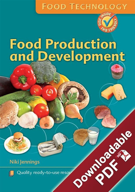 Instant Lessons - Food Technology - Food Production and Development