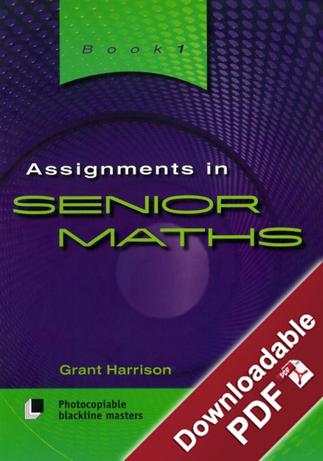 Assignments in Senior Maths - Book 1