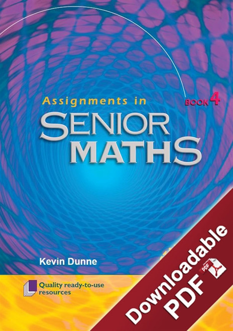 Assignments in Senior Maths - Book 4