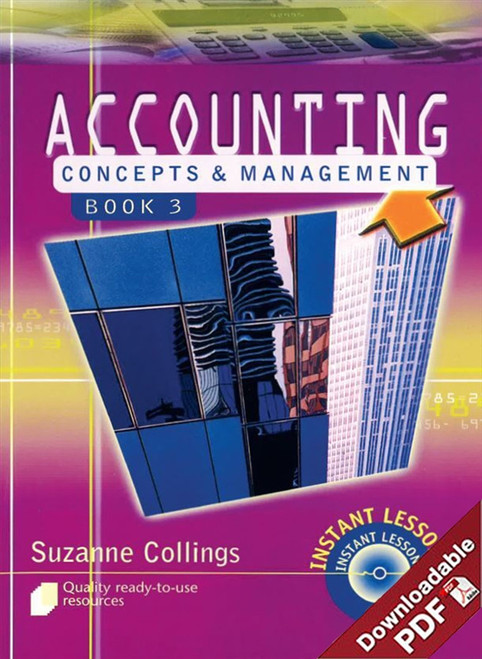 Instant Lessons in Accounting Concepts & Management - Book 3