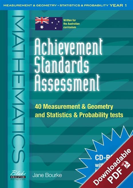 Achievement Standards Assessment: Mathematics - Measurement & Geometry and Statistics & Probability Year 1