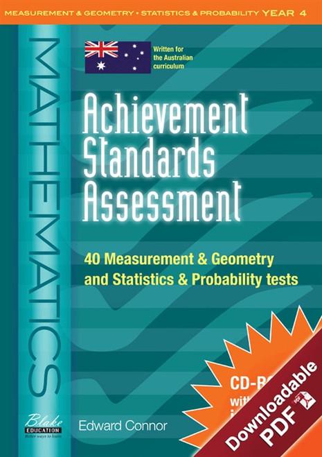 Achievement Standards Assessment: Mathematics - Measurement & Geometry and Statistics & Probability Year 4
