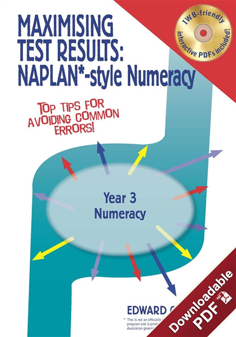 Maximising Test Results - NAPLAN*-style Year 3 Numeracy