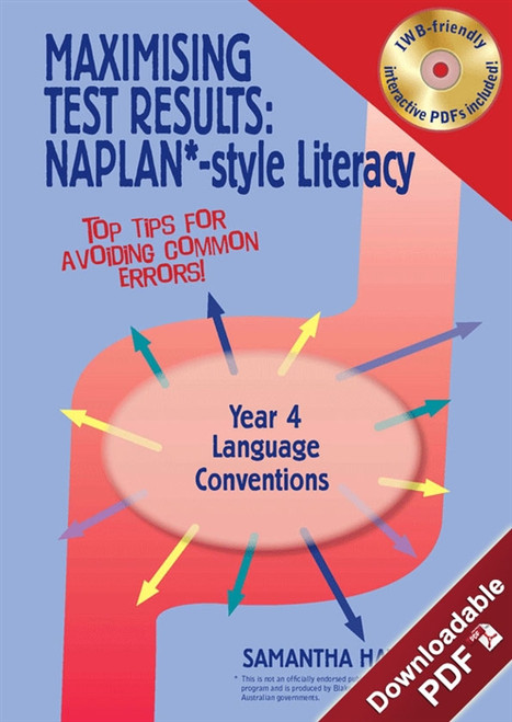 Maximising Test Results - NAPLAN*-style Year 4 Literacy: Language Conventions