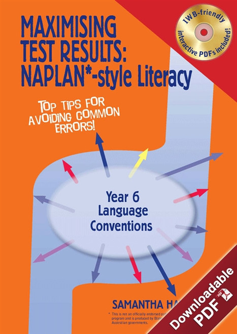 Maximising Test Results - NAPLAN*-style Year 6 Literacy: Language Conventions