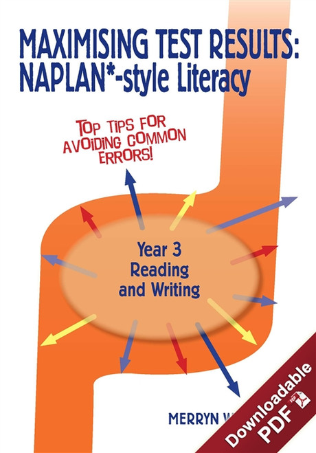 Maximising Test Results - NAPLAN*-style Year 3 Literacy: Reading & Writing