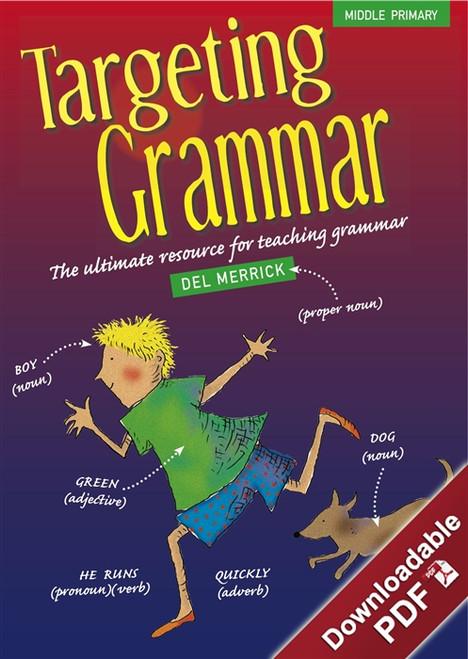 Targeting Grammar - Middle Primary