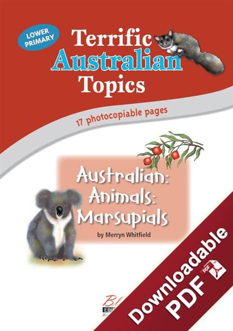 Terrific Australian Topics - Australian Animals: Marsupials - LP