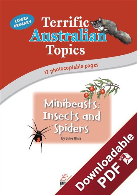 Terrific Australian Topics - Minibeasts: Insects and Spiders - LP