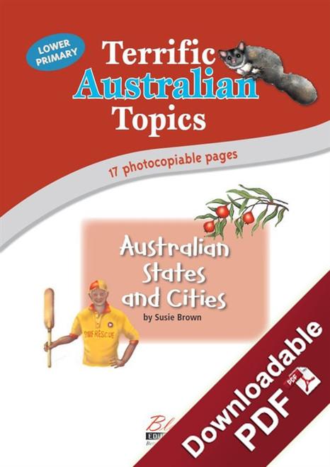 Terrific Australian Topics - Australian States and Cities - LP
