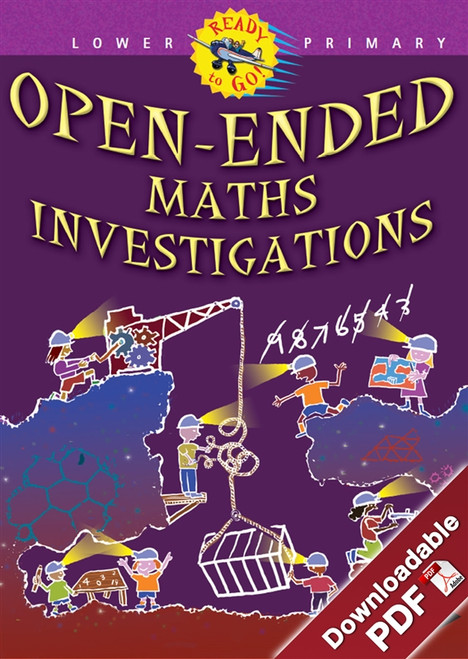 Ready-to-Go - Open-ended Maths Investigations - Lower Primary