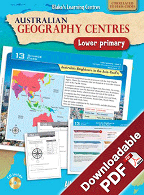 Australian Geography Centres Lower Primary