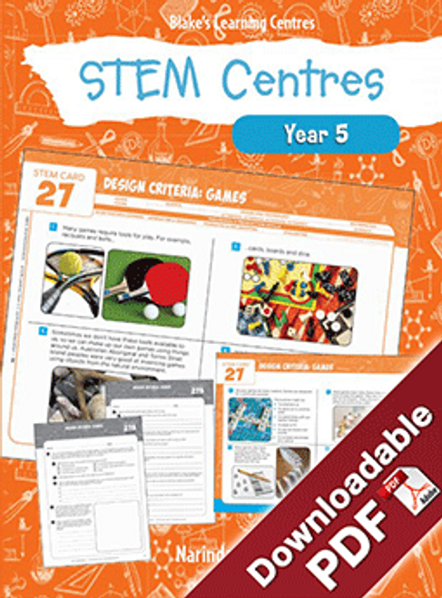 Blake's Learning Centres: STEM Centres - Year 5