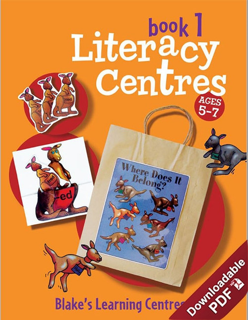 Blake's Learning Centres Literacy Book 1