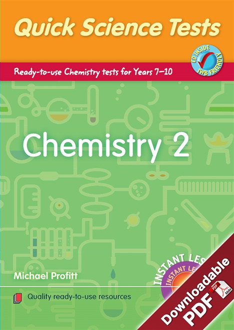 Instant Lessons - Quick Science Tests - Chemistry 2
