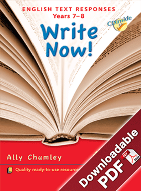 Write Now - English Text Responses Years 7- 8