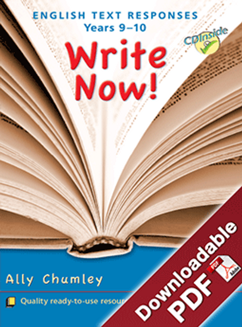 Write Now - English Text Responses Years 9 - 10