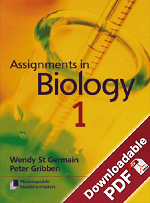 Assignments in Biology - Book 1