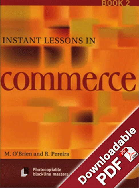 Instant Lessons in Commerce - Book 2