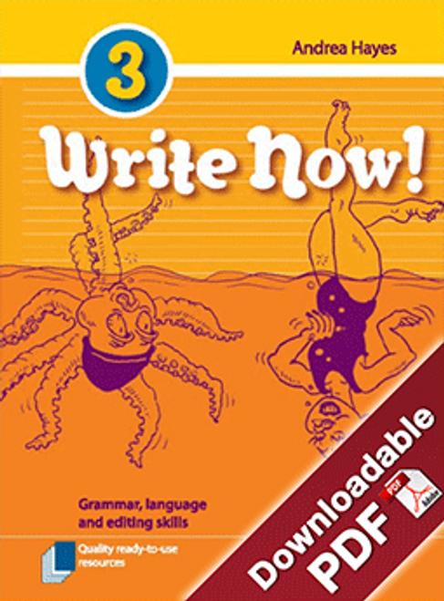 Write Now! - Grammar, Language and Editing Skills - Book 3