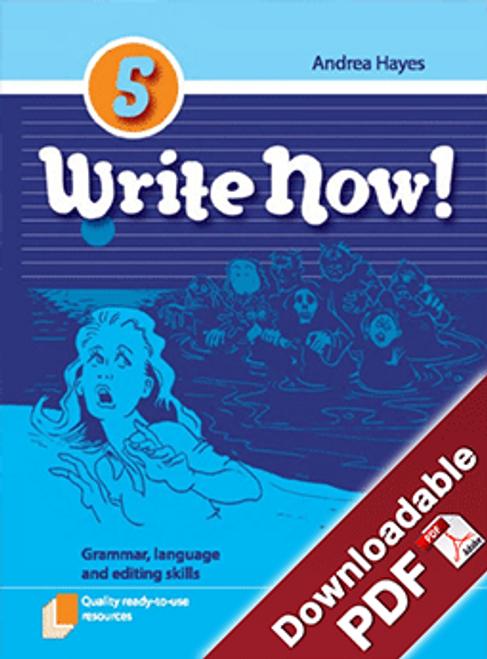 Write Now! - Grammar, Language and Editing Skills - Book 5