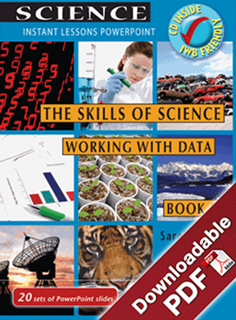 Instant Lessons PowerPoint - The Skills of Science - Working with Data Book 3