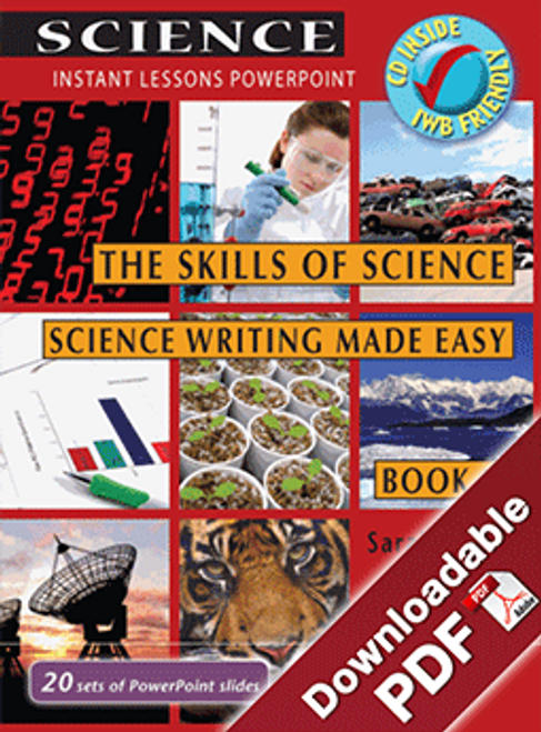 Instant Lessons PowerPoint - The Skills of Science - Science Writing Made Easy Book 5