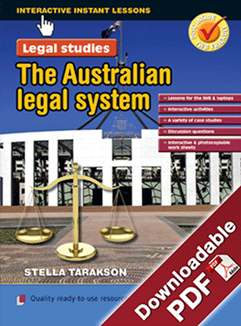 Interactive Instant Lessons Legal Studies - The Australian Legal System