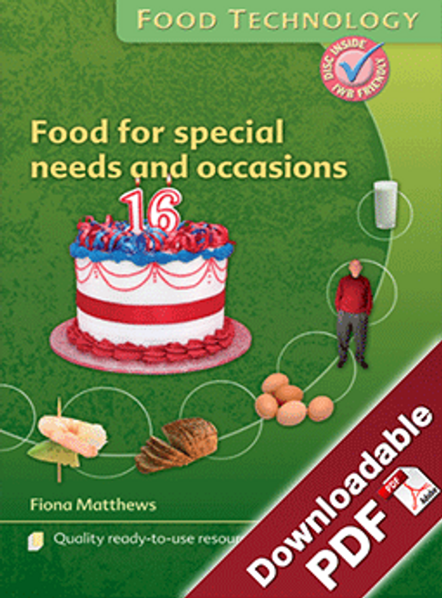 Instant Lessons - Food Technology - Food for special needs and occasions