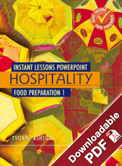Instant Lessons PowerPoint - Hospitality - Food Preparation 1