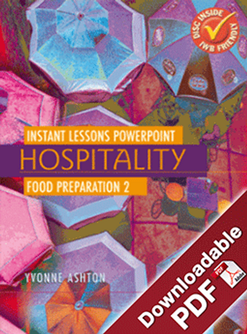 Instant Lessons PowerPoint - Hospitality - Food Preparation 2