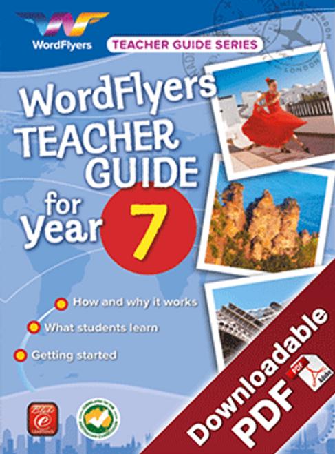 WordFlyers Teacher Guide - Year 7
